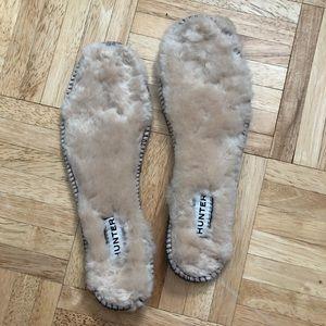 Fuzzy Hunter Boots insert